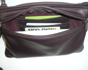 Fanny pack and shoulder bag w/organizer. Style #878FP