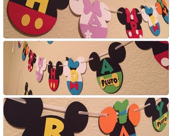 Mickey Mouse Club House Banner