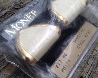 Vintage Monet Earrings NBW