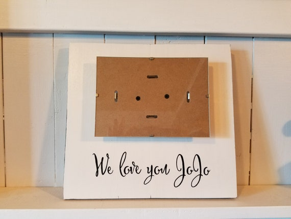 Customized Picture Frame