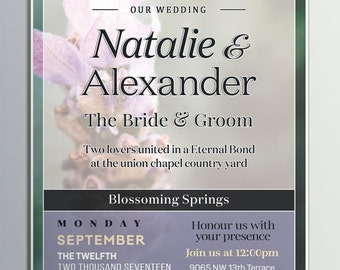 Weddings, Invitation Wedding, Custom Made Digital, Download Wedding Invitation, Wedding Invites, Custom Digital Wedding Invitation, Wedding