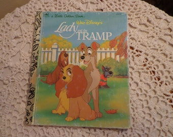 A Little Golden Book Walt Disney's Lady And The Tramp, 1991, 12