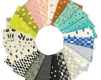 Print Shop Fat Quarters Bundle from Cotton+ Steel