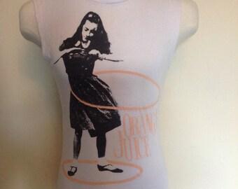Orange Juice rare promo cut off T-Shirt.