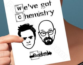 Breaking Bad | Anniversary Card | Walter White Heisenberg Funny Birthday Card Girlfriend Jesse Pinkman Fiance Birthday Card Husband Wife