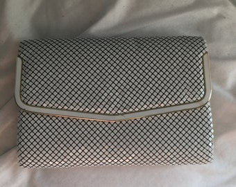 White vintage purse