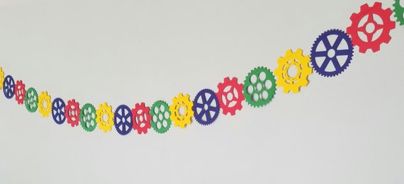 Colorful Gear Garland