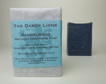 Sandalwood Soap enriched with Shea and Avocado Butter