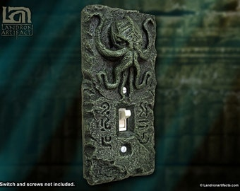 Cthulhu Lightswitch Cover Plate - Light Switch Cover