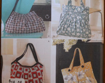 Simplicity 2685.  Purses, totes and handbag pattern.  One size.  Simplicity 2685 pattern.