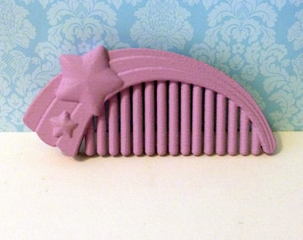 My Little Pony Life Size Pony Comb G1 - Star Comb