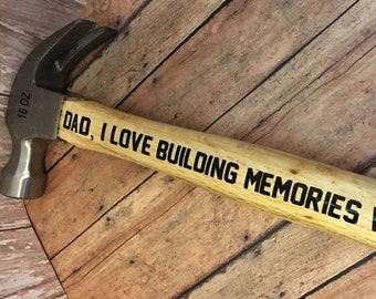 Father's day Hammer, Father's Day gift, Hammer, Personalized Father's Day gift, Hammer, christmas gift for dad- gift for step dad