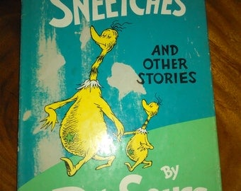 Vintage 1961 the sneetches by dr.seuss first edition