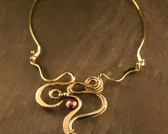 Dancer Necklace w/ Copper Disc