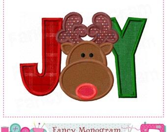 JOY applique,Joy design,Christmas design,Reindeer,Christmas applique,JOY embroidery,Reindeer applique,Reindeer design,Christmas.JOY.