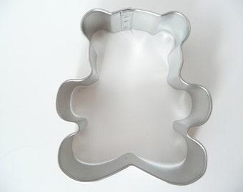 "3"" Teddy Bear Cookie Cutter Baby Shower Kids 1st Birthday Christmas"