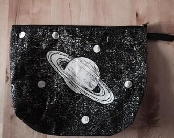 Moon Space Fashion Indie Pop Rock  Clutch Bag