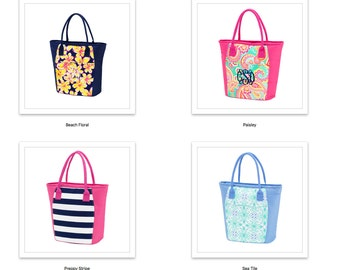 Lunch Totes, Large, Insulated, Office Lunch Totes Monogrammed