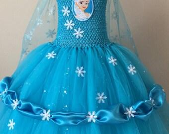 Elsa 4t tutu dress