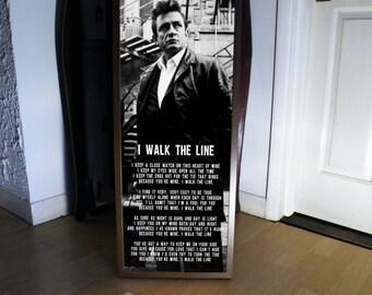 johnny cash poster etsy