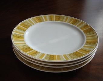 Franciscan Antiqua Mid Century Dinner Plates!