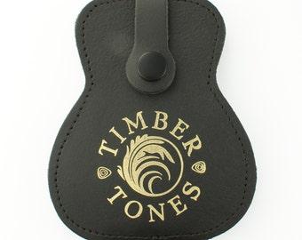 Timber Tones - Leather Guitar Pick / Plectrum Wallet