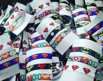 Set of 3 superhero ties