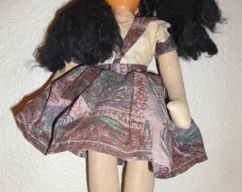 Vintage Cloth Bodied Doll