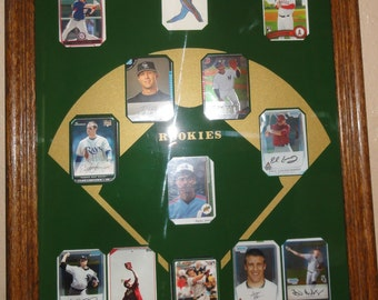 Collection of Real Baseball Rookie Cards