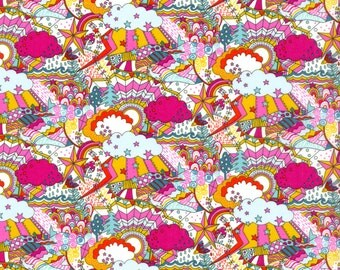 Liberty Tana Lawn Land of Dreams A - The Garden of Dreams collection, buy by the fat quarter/ metre