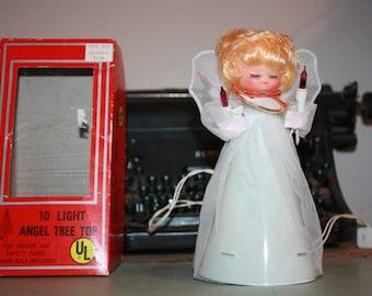 Items Similar To Vintage Amico Noma Electric Halo Angel