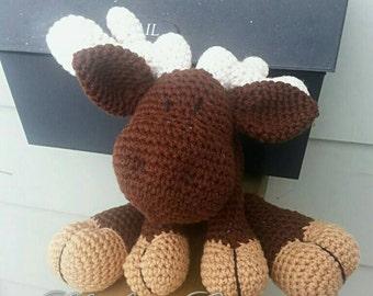 Moose Plush Stuffed Animal Made to Order