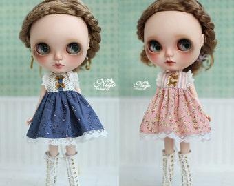 Nigo-Blythe-clothes=Vintage= for Blythe