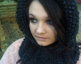 Knitted Hood - Design #2