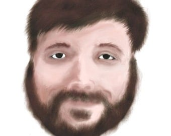 Custom Digital Portraiture (Blank Background)