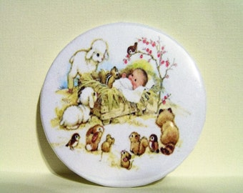 Baby Jesus and Friends Magnet