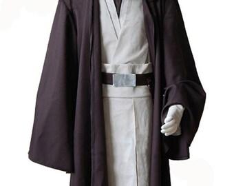 Star Wars Costume Old Obi Wan Kenobi Cosplay