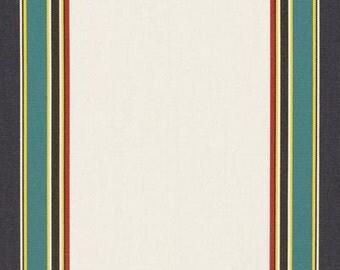 BLOWOUT !!!,Ralph Lauren, LCF66363F, Windandsea Stripe White Tartan, Fabric By The Yard