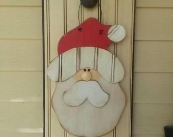 Santa door hanger