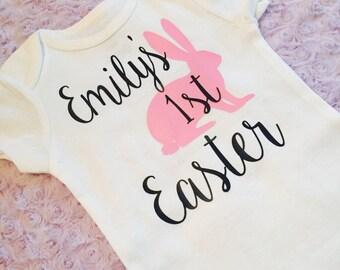 Baby's first Easter . Baby Easter. Easter baby. Easter bodysuit .