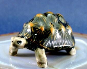 Turtle - handpainted porcelain figurine  - 4724