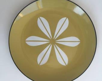 Beautiful Catherine Holm Enamel Lotus Petal Plate