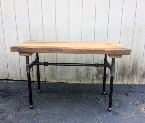 the butchers choice reclaimed wood bar table pub table butcher
