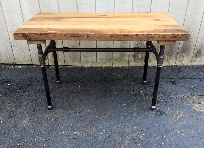 The Butchers Choice Reclaimed Wood Bar Table Butcher Block Farmhousetable Patio Furniture