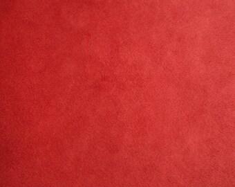 Scarlet Minky Solid Cuddle 3 Fabric Kozy Cuddle Solids