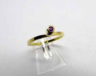 gracefully, Engagement, Gold, red, ruby, birthday