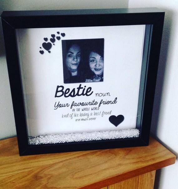 Bestie Frame Best Friend Gift Favoutite Friend Bestie Gift