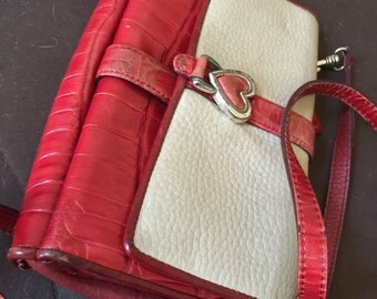 Vintage Brighton Cross Body Leather Bag Purse