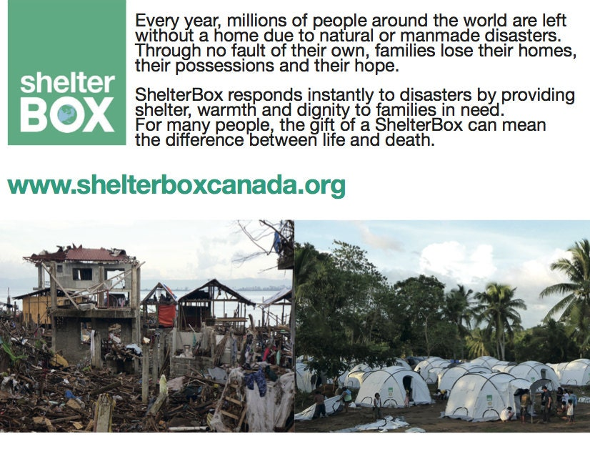 ShelterBox - Whats in a Box