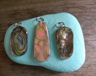 Natural Abalone Shell Pendants